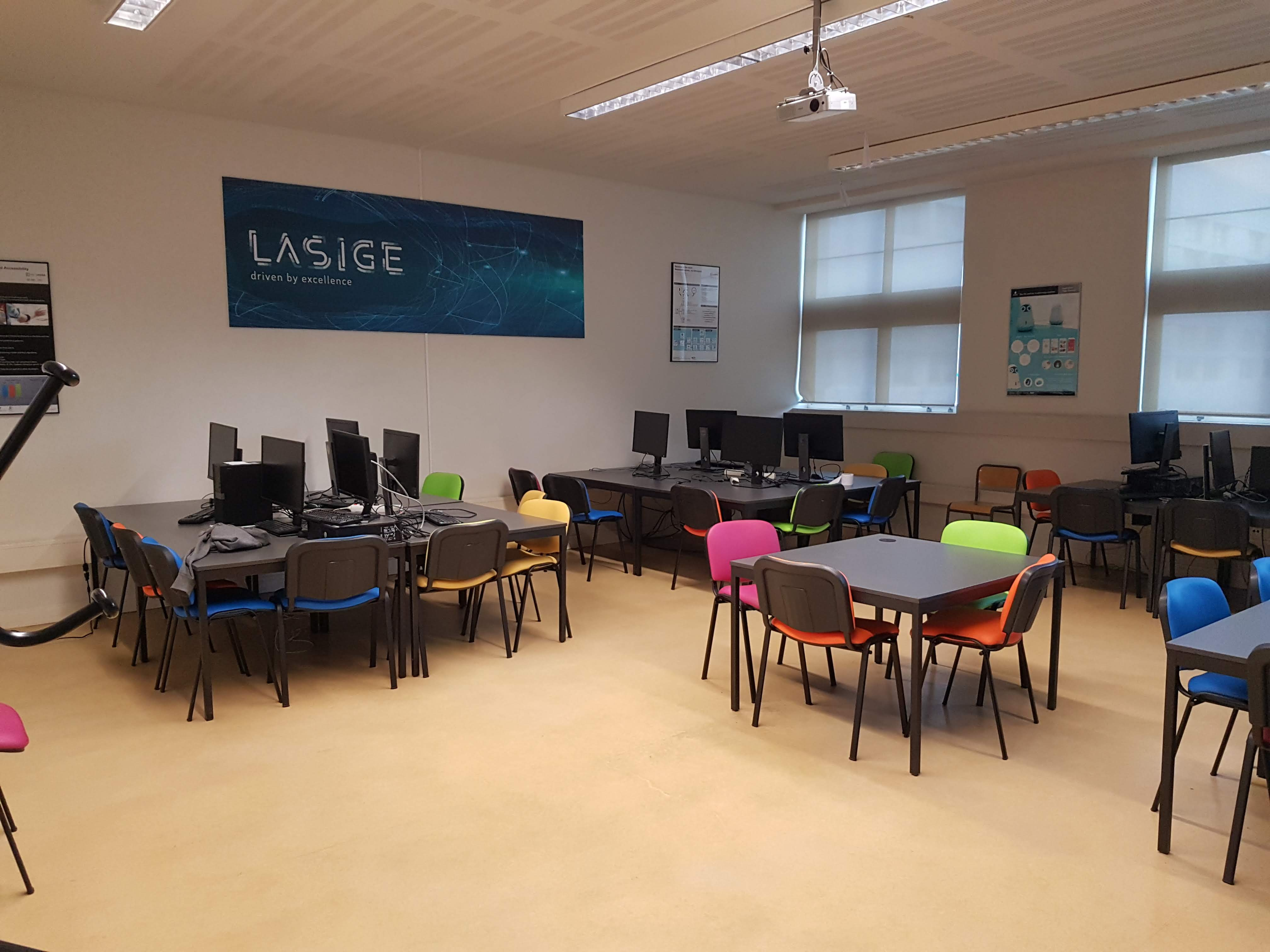 LASIGE Open Space lab